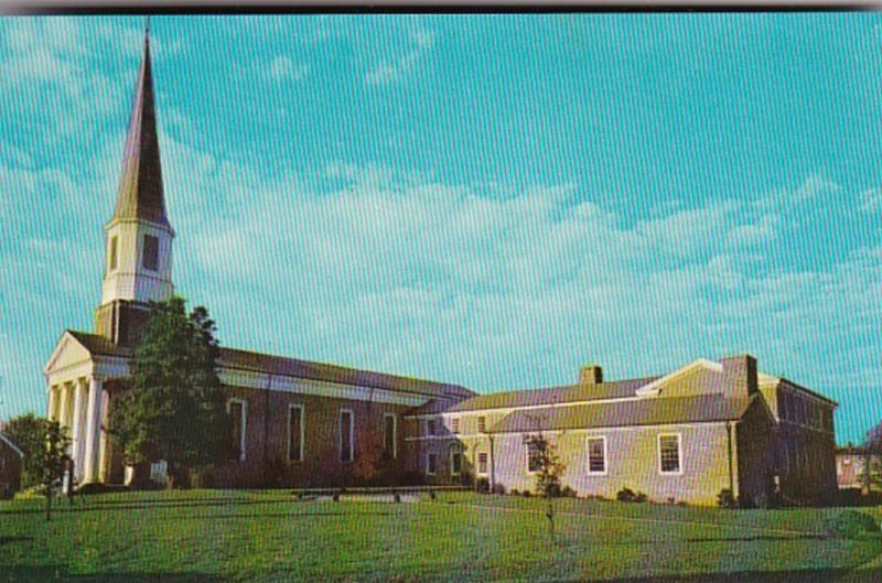 North Carolina Morganton First Methodist Church