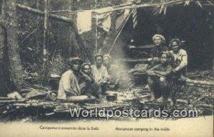 Annamese Camping in the wilds Vietnam, Viet Nam Unused
