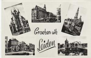 RP: 5-Views, Groeten uit LEIDEN, South Holland, Netherlands, 20-30s