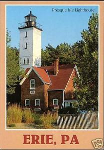 Erie, Pa., Presque Isle LIGHTHOUSE