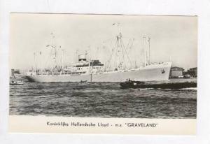 Koninklijke Hollandsche Lloyd - m.s.  GRAVELAND , 1951