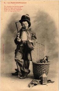 CPA Le Petit Chiffonnier. 4. A. BERGERET (675627)