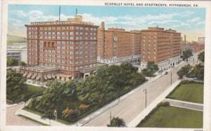 PITTSBURGH, Pennsylvania; Schenley Hotel and Apartments, 10-20s