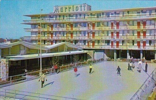Marriott Motor Hotel Hot Shoppes Restaurant Washington D C