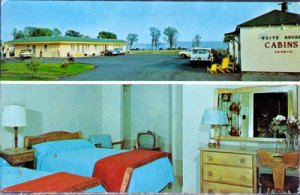 Beauport Canada -  White House Motel and cabins, 550 Ste. Anne Blvd., 1960s
