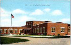 LAREDO, Texas  TX    BOYS' CLUB of LAREDO   ca 1940s Linen   Postcard