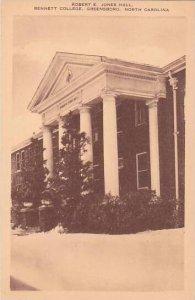 North Carolina Greensboro Robert E Jones Hall Bennett College Albertype