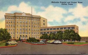 Texas Dallas Methodist Hospital and Nurses' Home Curteich