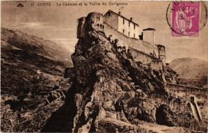 CPA CORSE Corte- Le Chateau et la Vallée du Tavignano. (711576)