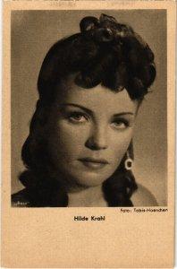 CPA AK FILM STAR Hilde Krahl Ross Verlag (94133)