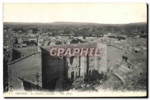Old Postcard The Orange Theater Antique