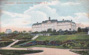 High School at Branch Brook Park - Newark NJ, New Jersey - pm 1908 - DB