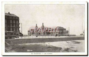 Treport - Casino - Old Postcard