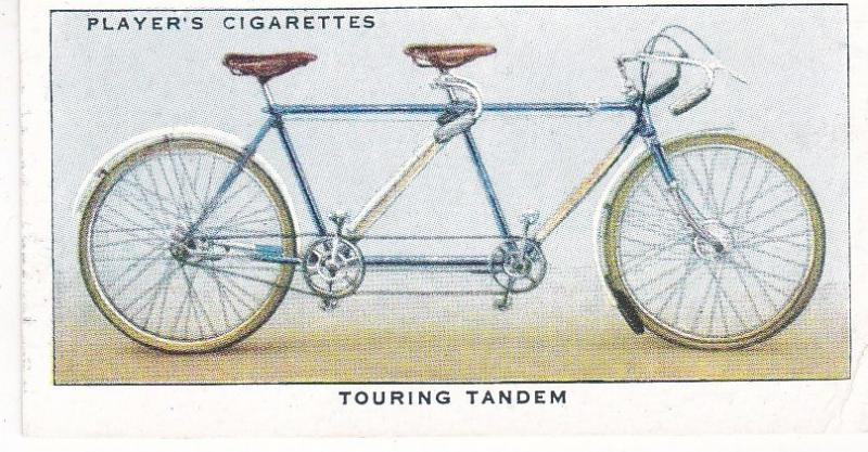 Cigarette Cards Players CYCLING No 31 Touring Tandem