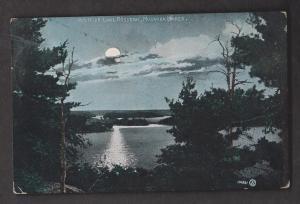 Night View Of Lake Rosseau, Muskoka Lakes, Ontario - Used 1907 Some Wear