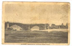 Destroyed bridge; Warszawa, Wysadzony w powietrze NOWY MOST , Poland, PU-1915