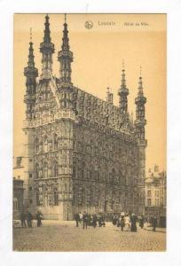 Hotel De Ville, Louvain , Belgium, 1900-1910s