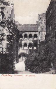 Schlosshof, Die Arkaden, Heidelberg, Baden-Wurttemberg, Germany, 1PU-1912