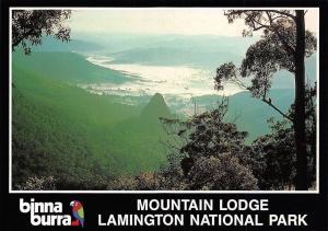 Australia Mountain Lodge, Lamington National Park Landscape