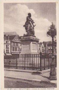 France Beauvais Statuede Jeanne Hachette