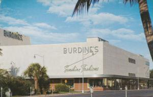 Burdine's Store, MIAMI BEACH, Florida, 40-60's
