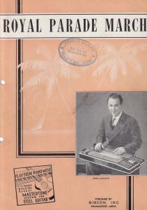 Royal Parade March Learn Gibson Guitar Old Sheet Music