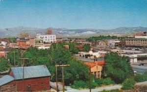 Nevada Elko Aerial View