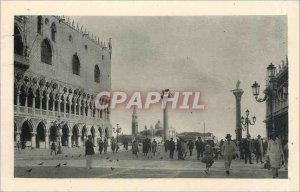 Old Postcard Venezia Marco S Piazzetta