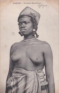 Africa Nude Topless Senegal Dakar Femme Bambara