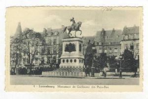 Monument De Guillaume Des Pays-Bas, Luxembourg, 1900-1910s