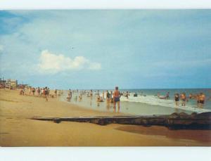 Unused Pre-1980 SCENE AT BEACH Bethany Beach Delaware DE M6802@