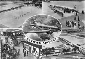 BR88530 gatwick airport british european airways uk  plane airplane avion