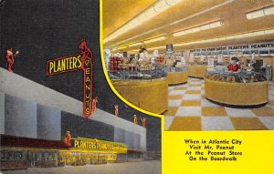 Advertising Post Card Planters Peanuts Unused