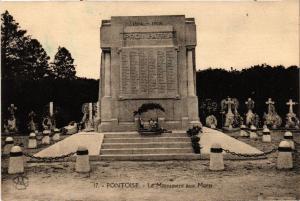 CPA  Pontoise - Le Monument aux Morts   (519413)