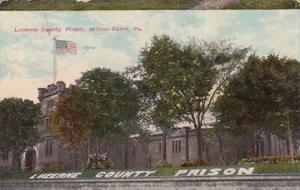 Pennsylvania Wilkes-Barre Luzerne County Prison 1911