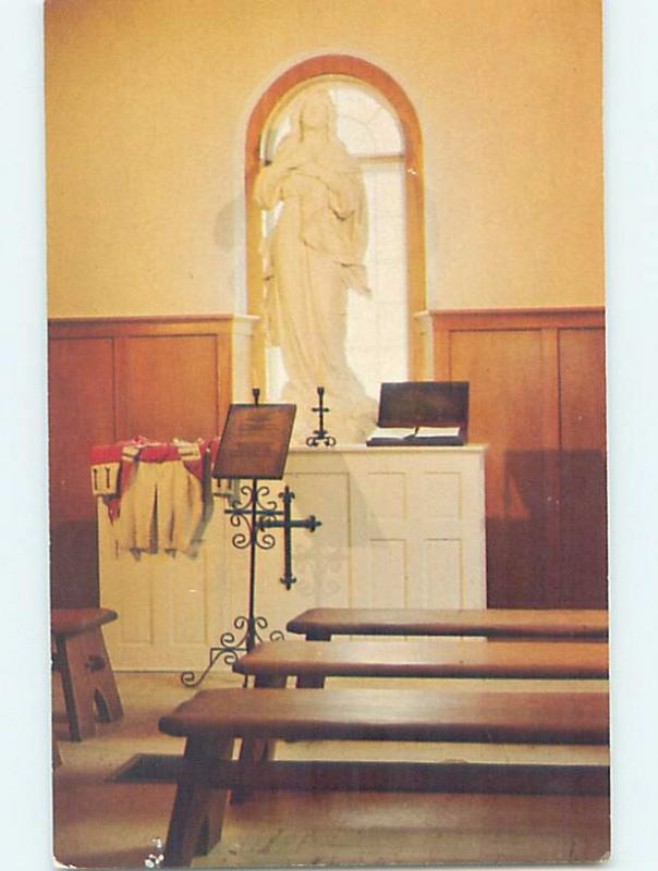 Unused Pre-1980 CHURCH SCENE Grand Pre - Near Dartmouth Nova Scotia NS G3616