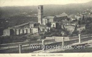 Assisi, Italy, Italia Panorama del Giardino Pubblico Assisi Panorama del Giar...
