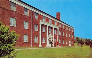 ONEONTA NEW YORK~HARTWICK COLLEGE-LEITZELL (2nd PRESIDENT) HALL FOR MEN POSTCARD