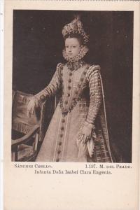 Spain Sanchez Coello Infanta Dona Isabel Clara Eugenia