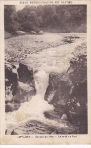 France Chamonix Gorges du Fier Le saut du Fier 1933