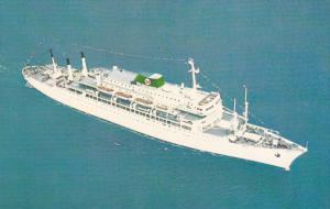 New Passenger Liners BRASIL & ARGENTINA, Moore-McCormick Lines Inc.,  40-60s