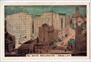 Hotel Wellington, Albany NY