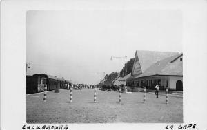 DR Congo, Luluabourg La Gare, Kananga Station, Postcard