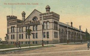 BRANTFORD , Ontario , PU-1913 ; The Armouries