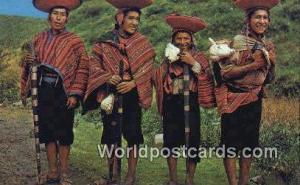 Cuzco, Peru Alcaldes de communidades de Pisaq, Pisaq Indian Mayor's  Alcaldes...