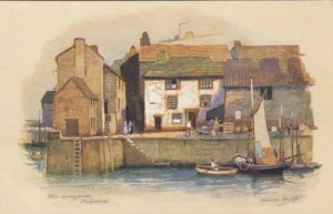 AS, POLPERRO, England, 1900-10s; The Quayside, Sailboats
