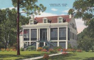 PASCAGOULA , Mississippi, 1930-40s ; Longfellow house