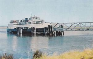 Exterior View, Fort Fisher, Southport Ferry Boat, Fort Fisher Terminal, Cape ...