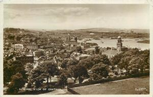 Real photo postcard general view of Chatham