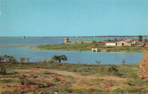 Abilene Texas~Fort Phantom Hill Lake~1965 Postcard